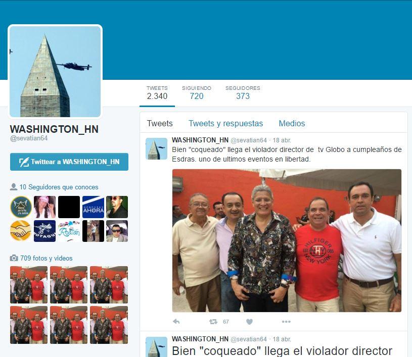 WASHINGTON_HN BOT DE JOH en twitter